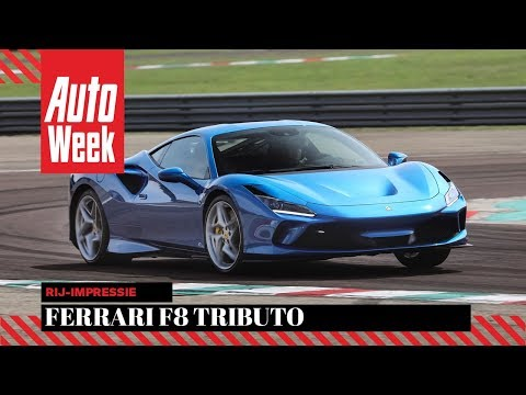 Ferrari F8 Tributo - AutoWeek review - English subtitles