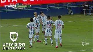 Omar González da un cabezazo y Pachuca ya remonta a Cimarrones