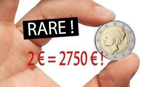 Comment trouver des pièces euro de collection rares