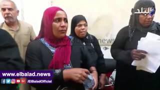 بالفيديو..سيدة من سكان تل العقارب:' الرئيس ما يرضاش بكده '