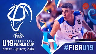 Greece v Philippines - Full Game - FIBA U19 Basketball World Cup 2019