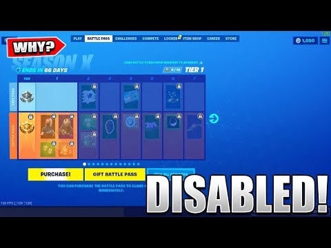 Here's Why GIFTING The BATTLEPASS Has Been DISABLED in Fortnite..