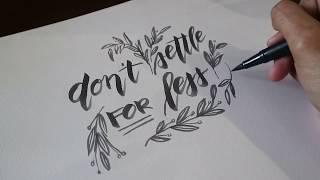 hand script & doodle