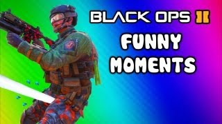 Repeat youtube video Black Ops 2 Funny Moments - Peeing, Phone Call, Takeoff Magic, AGR Mission, Guardian Club (Funtage)