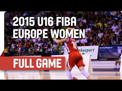 Russia v Slovak Republic - Group B - Full Game - 2015 U16 European Championship Women