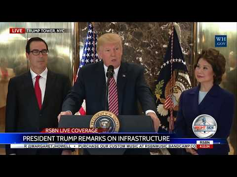 FULL: President Trump UNLEASHED:  DESTROYS the Press in EXPLOSIVE Press Conference 8/15/17