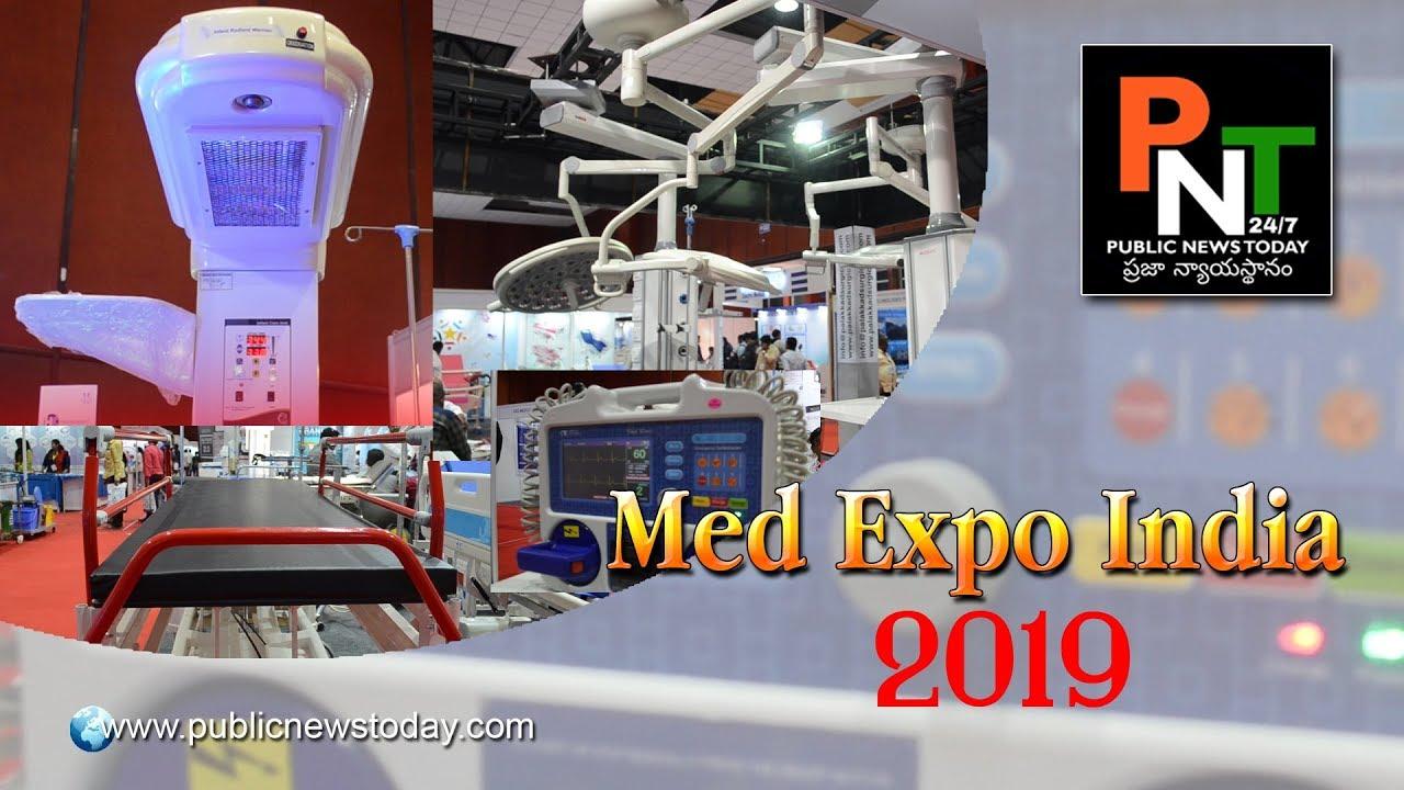 India Med Expo 2019   International Medical Equipment Exhibition   Hyderabad   PublicNewsToday 24/7 #MedicalRadiology