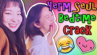 YERI teasing her crush SEULGI before going to sleep | Red Velvet Crack YermSeul 레드벨벳 슬기 예리 옒쓸
