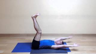 Baxter Bell Yoga: Reclining Vinyasa #3 for Core and Inner Thigh Strength