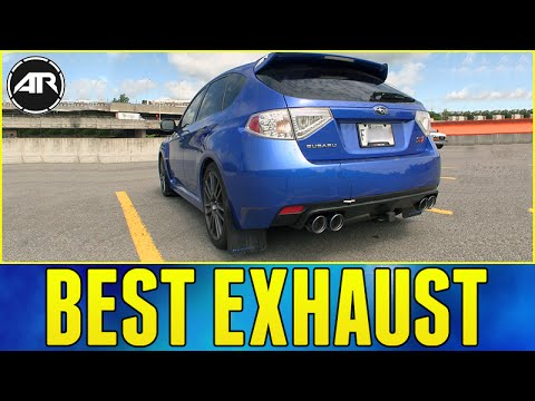 THIS EXHAUST IS AMAZING!!! (Subaru WRX STi Invidia Q300 Install & Sound Test)