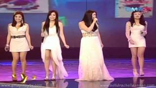 "[HD] Party Pilipinas - ""Home"" Medley w/ Regine, Rachelle, Kyla, Frencheska & Julie Anne (10/24/2010)"