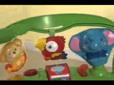 2558e66f2 Fisher Price Rainforest Jumperoo Baby Walker - YouTube