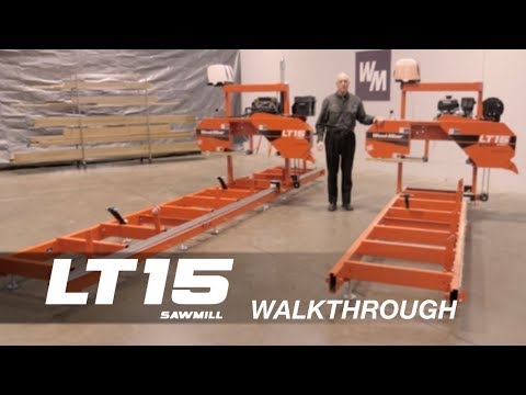 LT15 Portable Sawmill Walkthrough | Wood-Mizer