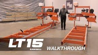 LT15 Portable Sawmill Walkthrough | Wood-Mizer