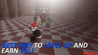 SB2 - Best Way To Level Up Fast And Get Vel Fasts (FOR LVL 45+) | ROBLOX