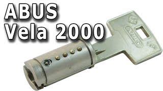 ABUS Vela 2000MX - модульный немецкий цилиндр в нашей стране.