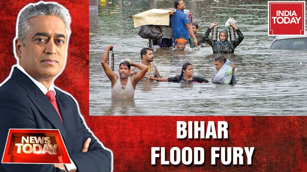 Patna Floods In Rain Fury: Smart Or Sinking Cities? | News Today With Rajdeep