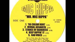 "MIC RIPPA ""96 CREAM HUNT"""