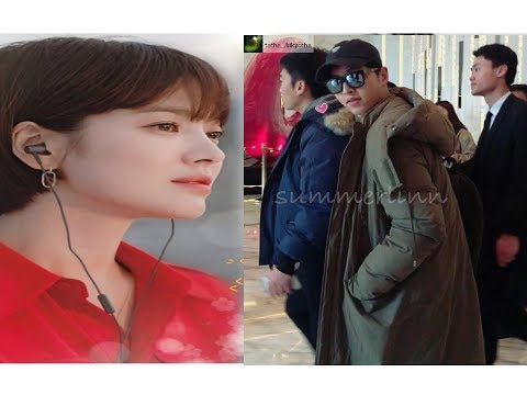 New picture of the handsome husband of Song Hye Kyo 😃Mr Song miss you