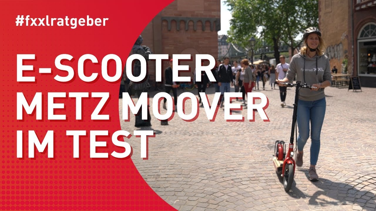 E-Scooter Metz Moover im Test