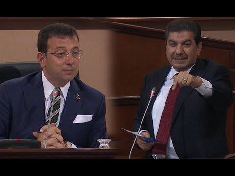 İBB Meclisi'nde İmamoğlu ve Göksu arasında 'temel atmama töreni' tar