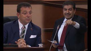 İBB Meclisi'nde İmamoğlu ve Göksu arasında 'temel atmama töreni' tartışması