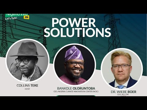 Monday, 17th August, 2020, Guest - Bankole Oloruntoba, CEO, Nigeria Climate Innovation Center (NCIC)