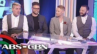 Exclusive interview with Boyzone!