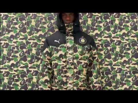 89d40e2e0be0c Bape x Puma Camo Long Down Jacket DHgate (Aliexpress) - YouTube