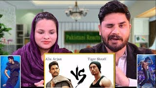 Pakistani Reacts To | Allu Arjun vs Tiger Shroff Dances