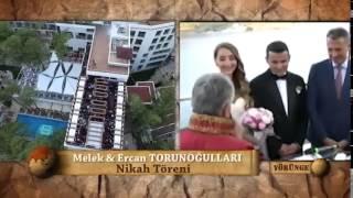 Ercan Torunoğulları Melek Çiftinin Rüya Gibi Düğünü