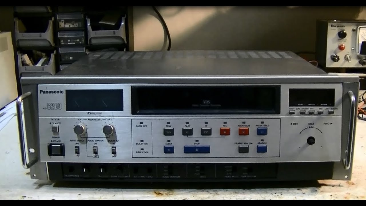 26 Year Old Vcr Tear Down Part 1 Has Some Very Nice