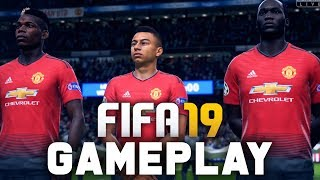 FIFA 19 Gameplay - Man U vs Man City (Champions League) Demo