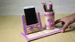 IDE KREATIF DARI STIK ES KRIM | Craft From Ice Cream Sticks