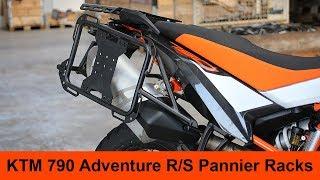 KTM 790 Adventure Pannier Racks installation guide