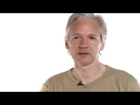 Julian Assange  of Wikileaks - Afghanistan war logs