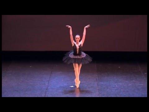 Swan Lake - Lago dei cigni - Variazione Cigno nero - spettacolo Jewels - ecoledeballet 2014