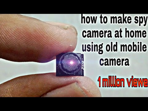 How To Make SPY Camera At Home