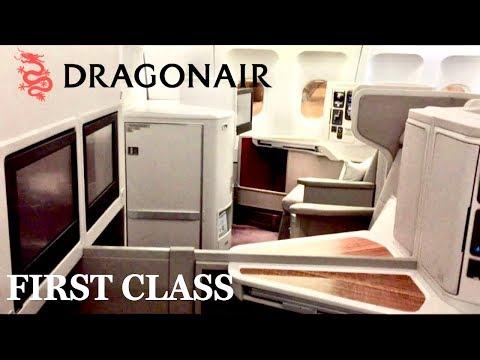 Dragonair Cathay Dragon First Class Beijing to Hong Kong Airbus A330-300 Review