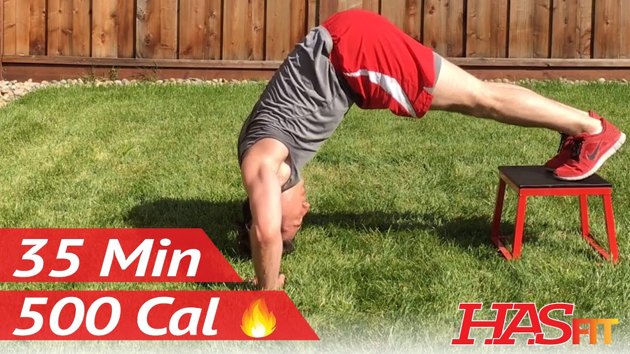 35 Min of Body Weight Exercises w/ Coach Kozak - HASfit Calisthenics Workout - Bodyweight Workouts