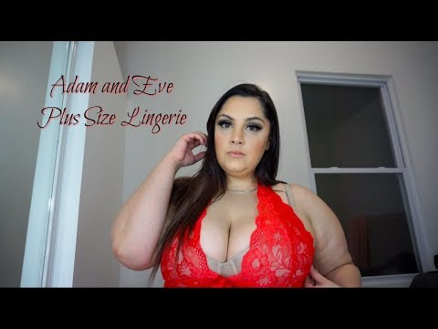 Adam & Eve Plus size lingerie haul try-on from YouTube · Duration:  5 minutes 43 seconds