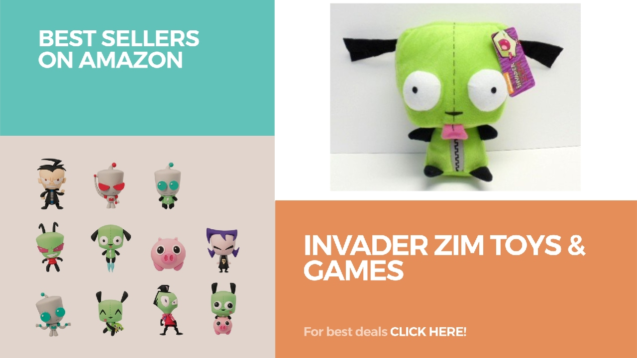 Invader Zim Toys Games Best Sellers On Amazon Youtube