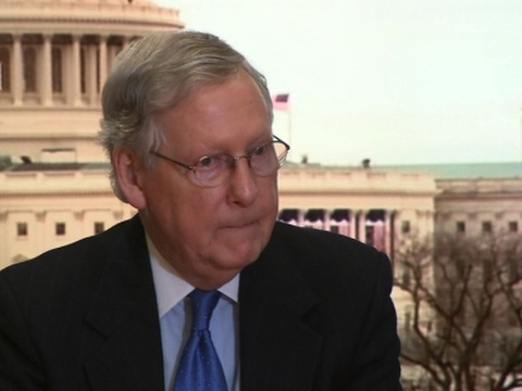 AP Interview: McConnell Warns GOP on Health Bill