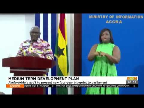 Akufo-Addo's government to present new four-year blueprint to parliament- Adom TV (19-7-21)