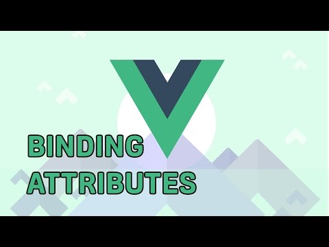 BINDING HTML ATTRIBUTES | VueJS 2 | Learning The Basics