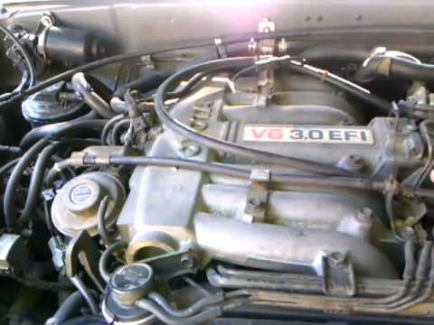 1995 Toyota 4runner SR5 30 v6  YouTube