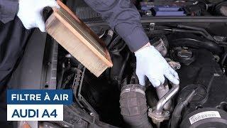Audi A4 - Changer le Filtre à Air