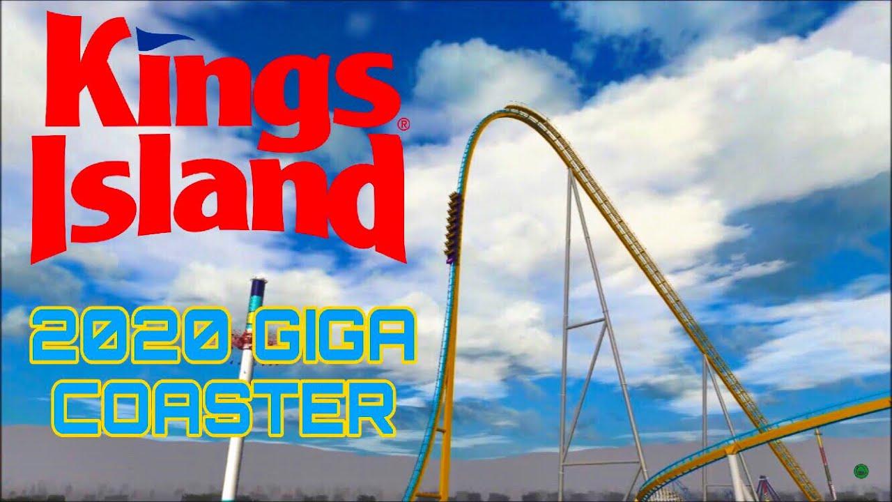 Kings Island 2020 GIGA COASTER NoLimits 2 Layout Prediction!