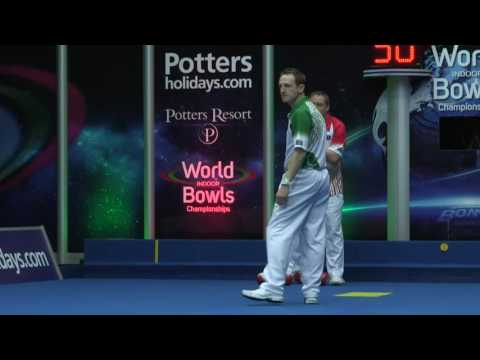 World Indoor Bowls Championship 2017: January 18th Afternoon Session