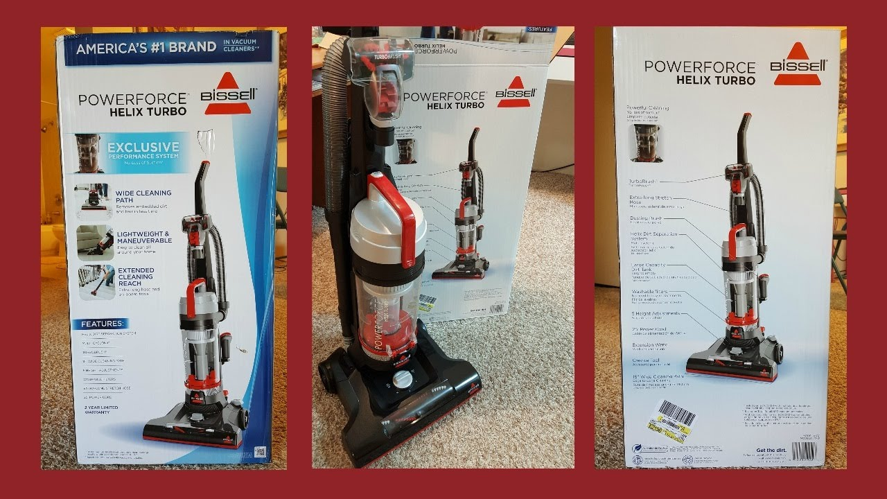 Bissell Powerforce Helix Turbo Vacuum Cleaner Detailed